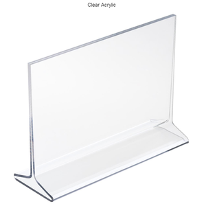 A4 paper label table pull-out transparent photo frame price plate acrylic table card table plate T-t
